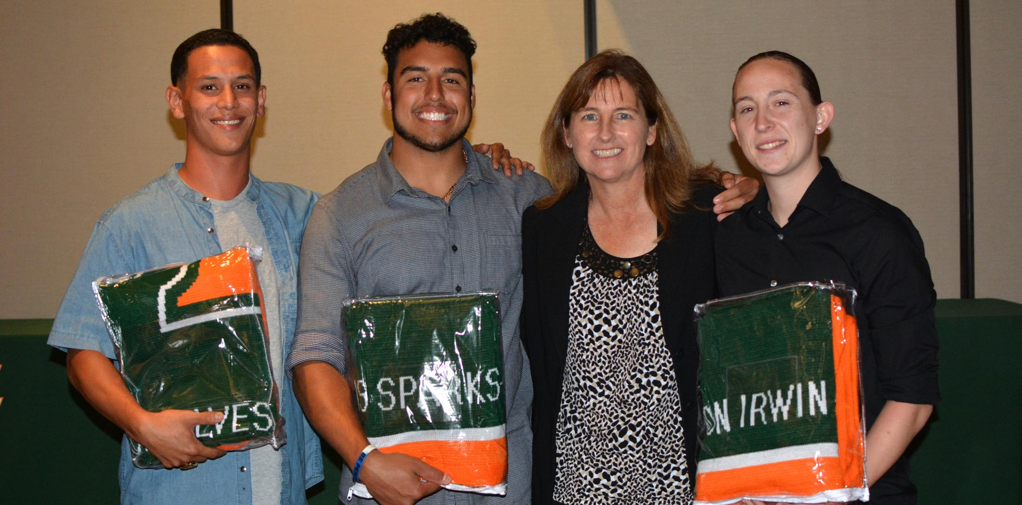 La Verne honors 62 seniors at 2016 Senior Blanket Awards