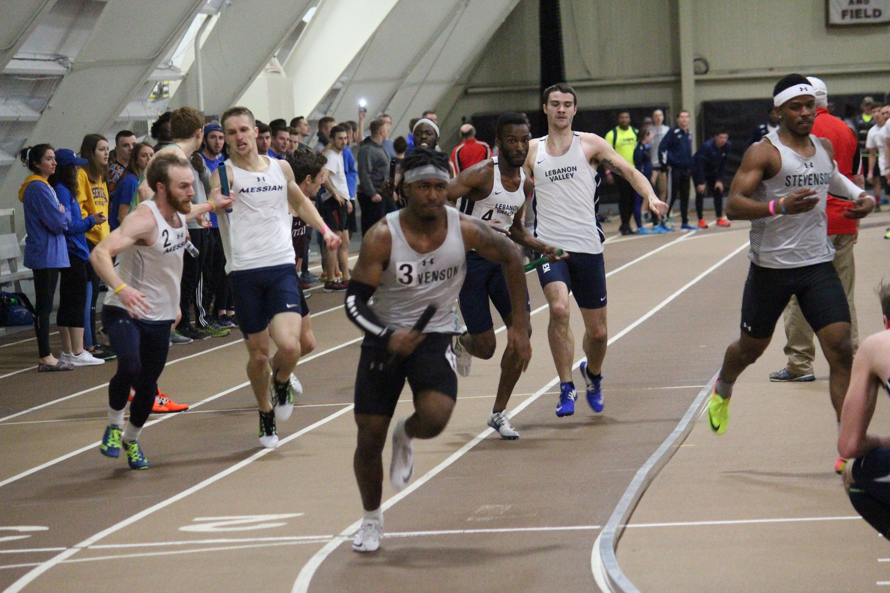 Mustangs Set School Record in 4x100 at Towson Invitational