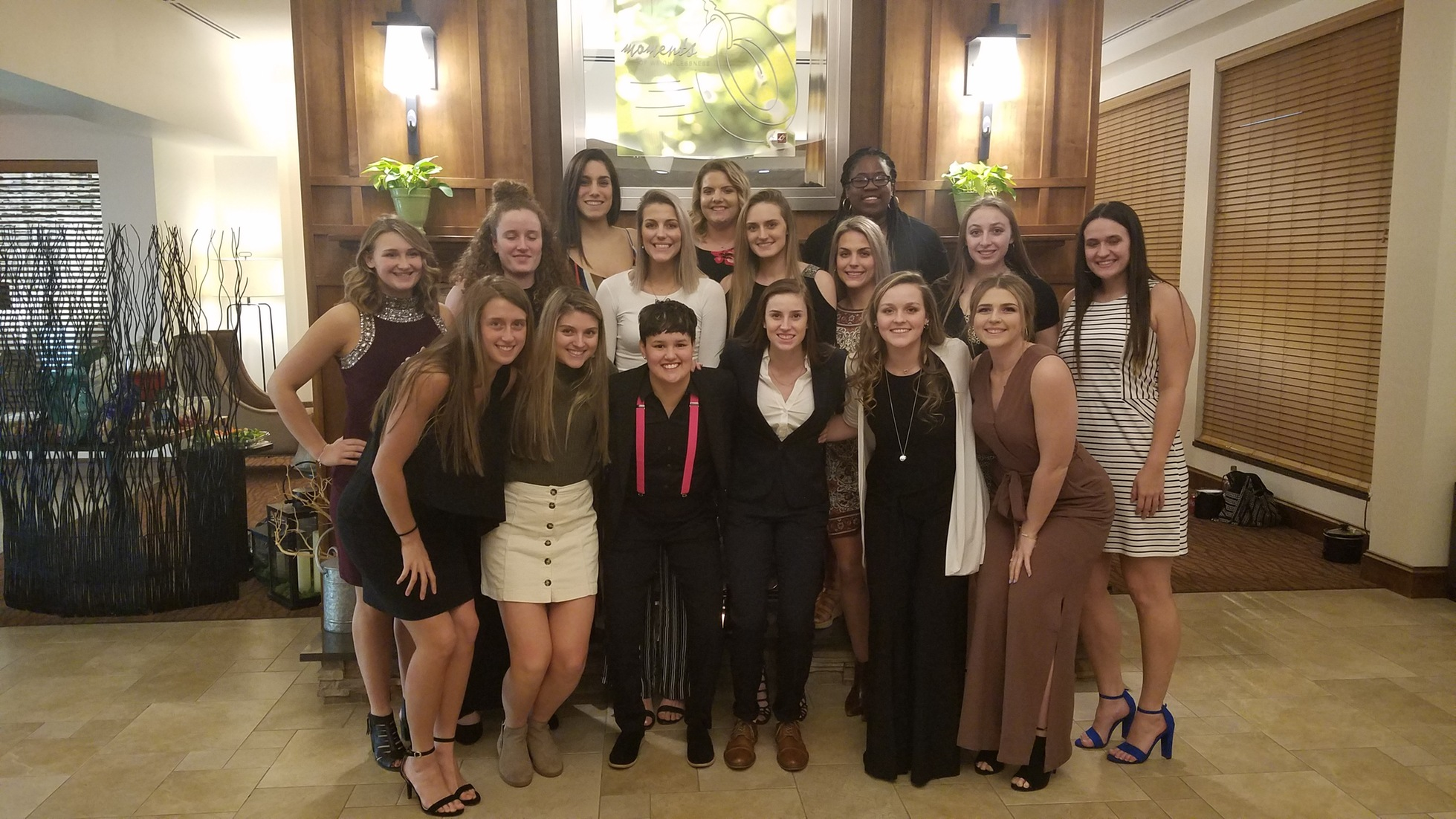 Lady Mustangs recognized at USCAA All-American Awards Dinner