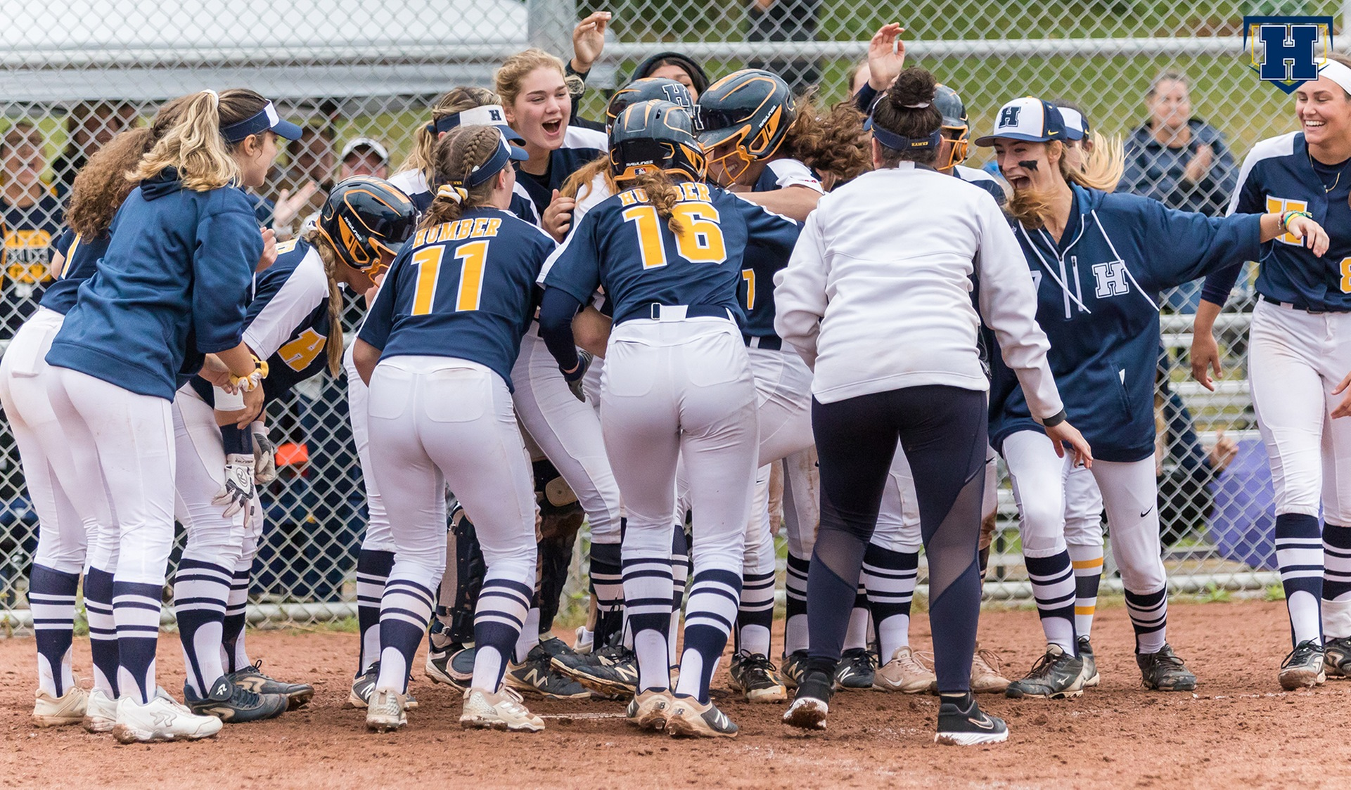 Softball Grabs Top Spot with Sweep of Durham