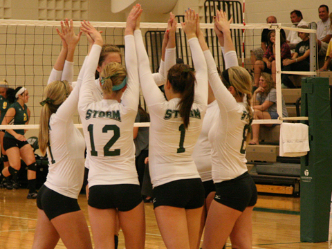 Storm Volleyball Swept by #10 Hillsdale