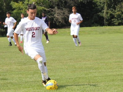 Men's Soccer: Mustangs outscore Centurians