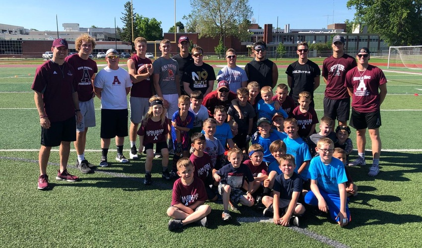 Football Hosts its Second Annual Youth Camp