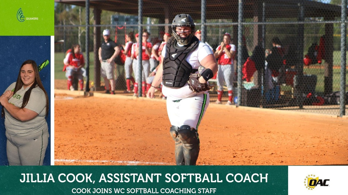 Jillia Cook Joins Softball Staff as Assistant Coach