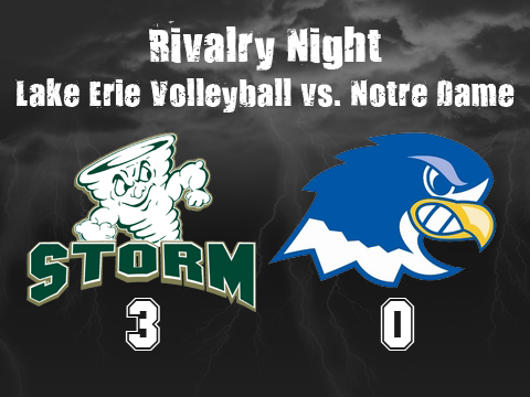 Highlights From Volleyball's Win Over Notre Dame