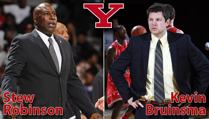 Men's Basketball Promotes Bruinsma, Adds Robinson to Staff