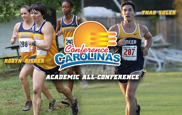 Risher and Sulek Named to Academic All-Conference Cross Country Teams