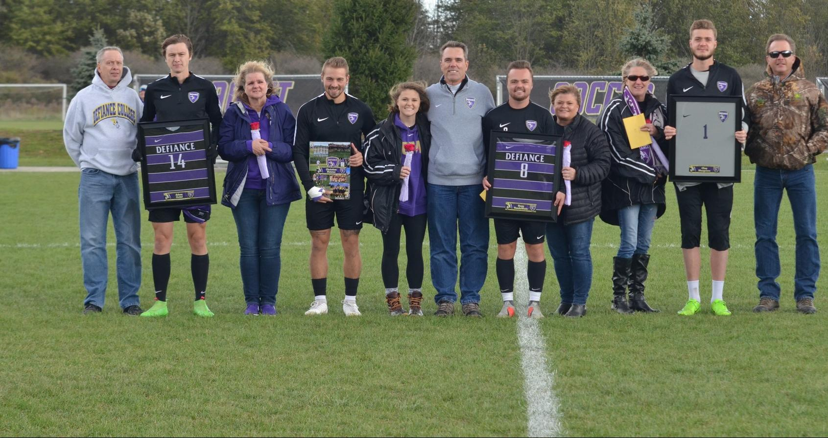 Men's Soccer Hosts Mt. St. Joseph on Senior Day