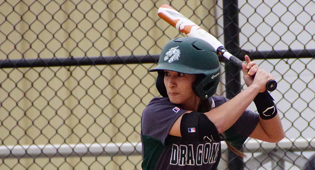 Jamie Sevenish and the Dragons posted a 5-4 win over Nyack but lost to Wayne State 5-2.