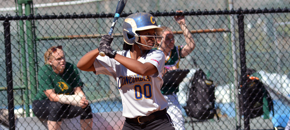 Concordia Softball Splits a Pair of CACC Road Games at Nyack