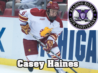 Hockey's Casey Haines To Play For The Reading Royals