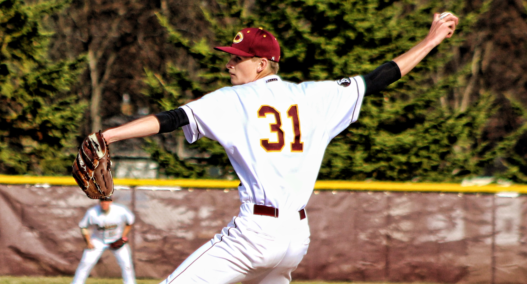 Sophomore pitcher Ty Syverson pitched a complete game to get the win in the Cobbers' final game in Florida