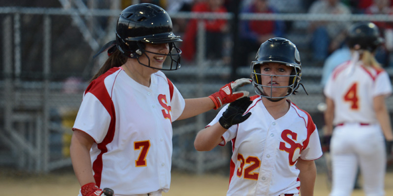 Simpson holds steady with No. 10 ranking in softball poll