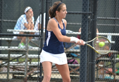 #24 UMW Women's Tennis Falls to #8 Johns Hopkins