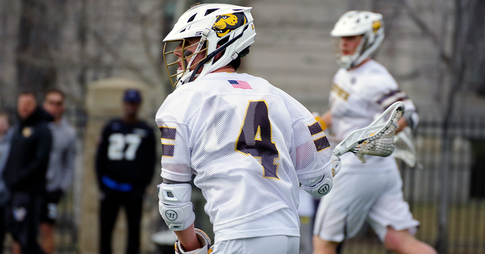 Men's Lacrosse Edged by Curry