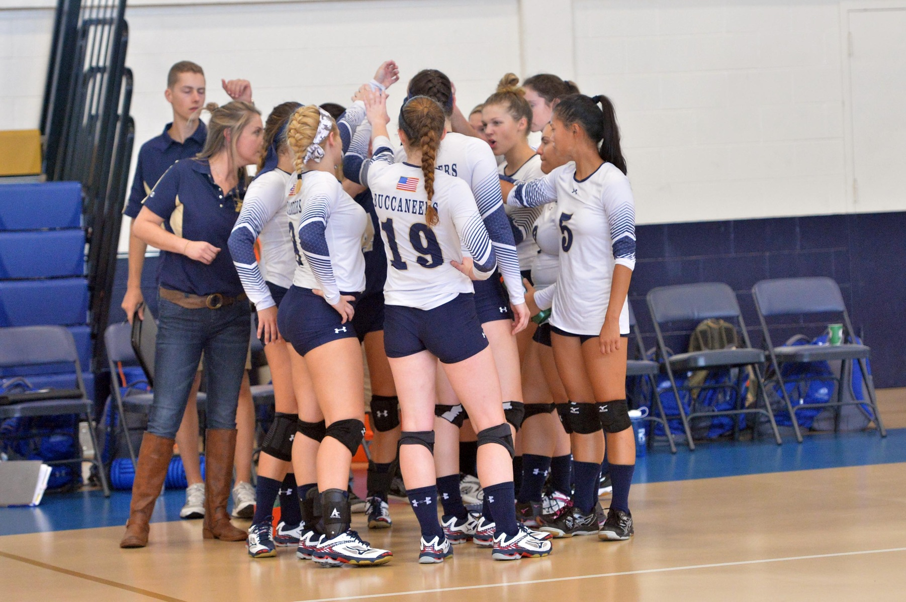 Buccaneer Take First Set; fall to Fisher in Four