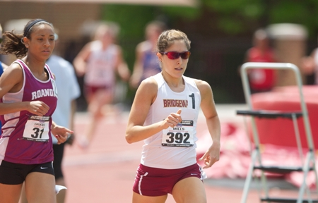 Mills Sets New Bridgewater Mark In 5000 Meters