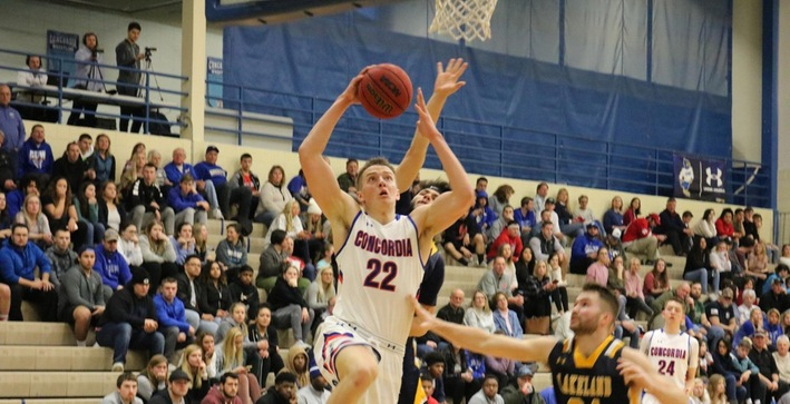 Men's Basketball clinches NACC Tournament berth