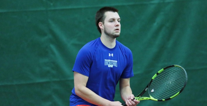 Doubles play leads Men's Tennis to win over North Central