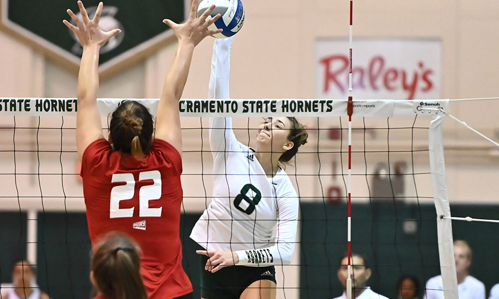 VOLLEYBALL FALLS AT HOME IN FIVE SETS TO EASTERN WASHINGTON