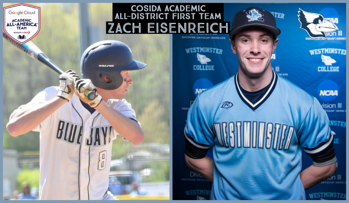 Eisenreich Selected CoSIDA Academic All-District First Team
