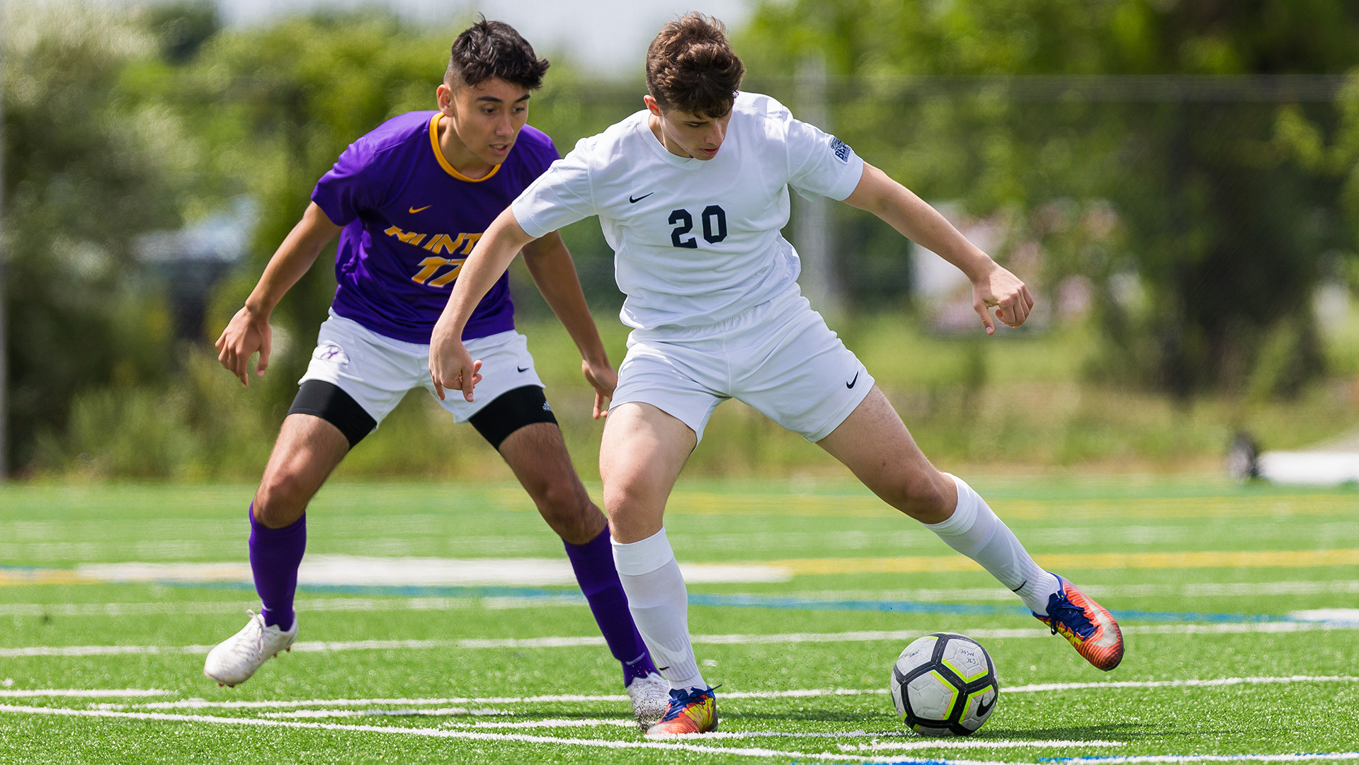 Men's Soccer Scores A Pair in Losing Effort at Staten Island