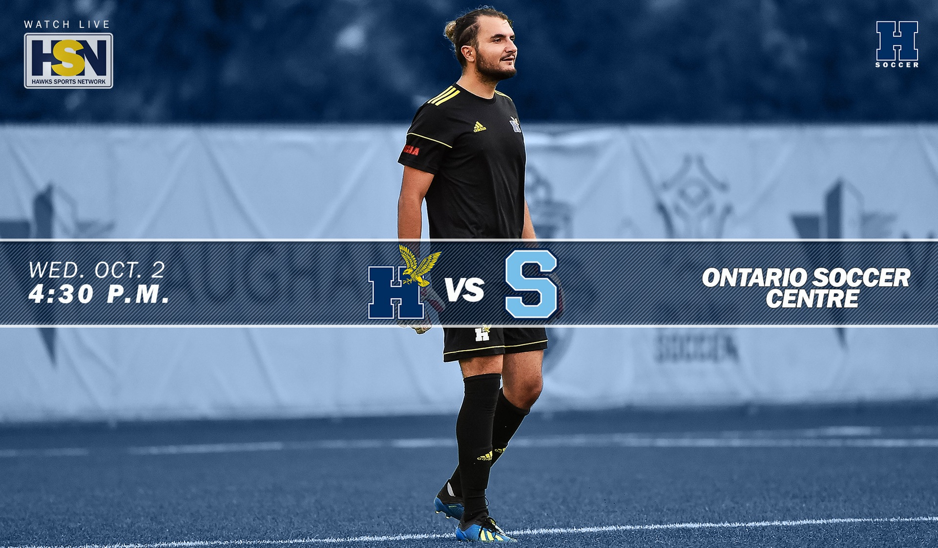 No. 1 Men's Soccer Welcomes Division Rival No. 11 Sheridan Wednesday