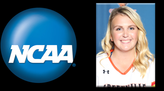 Greenville Student-Athlete Selected To Participate in NCAA Career in Sports Forum