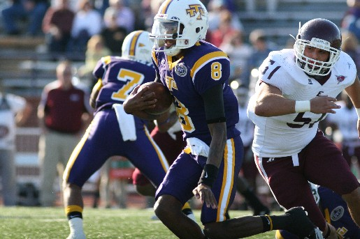 Golden Eagles downed by EKU Colonels in Homecoming clash