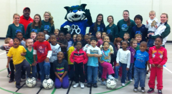 Bobcat Soccer Hosts Youth Clinic