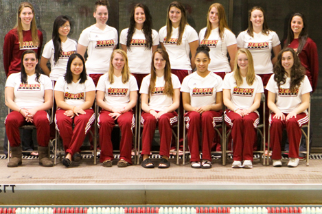 WOMEN'S SWIMMING TEAM SELECTED FOR CSCAA ALL-AMERICAN AWARD