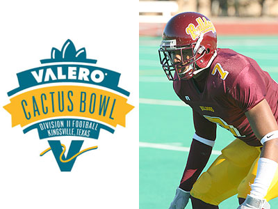 Angelo Williams Competes In Cactus Bowl