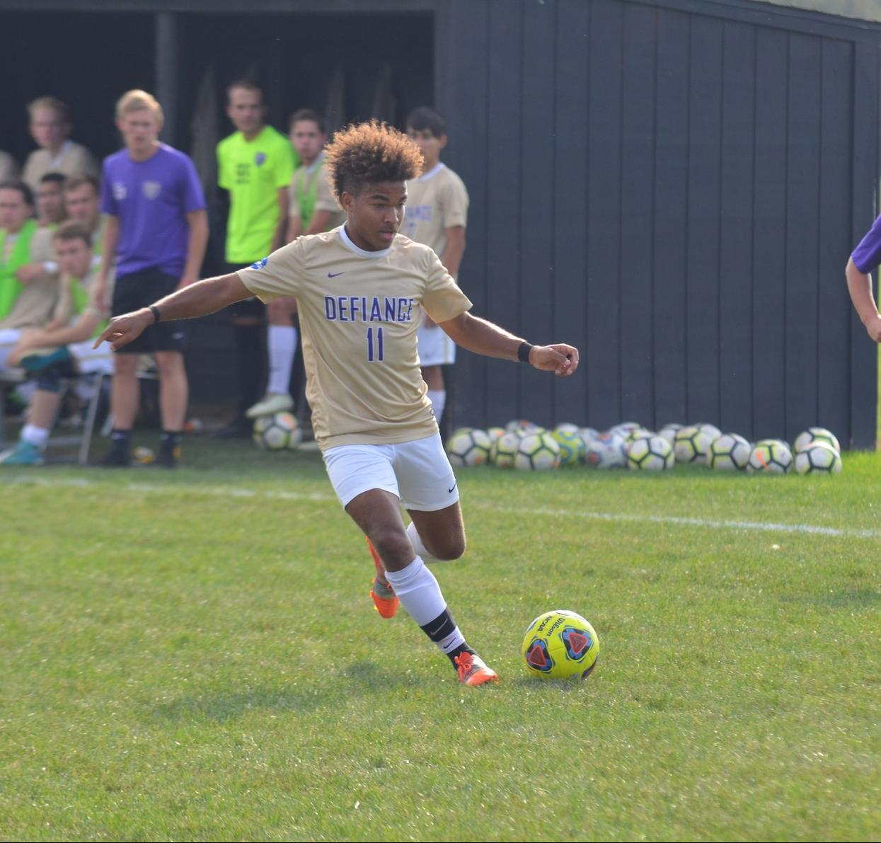 Men's Soccer Picks Up Key Road Victory