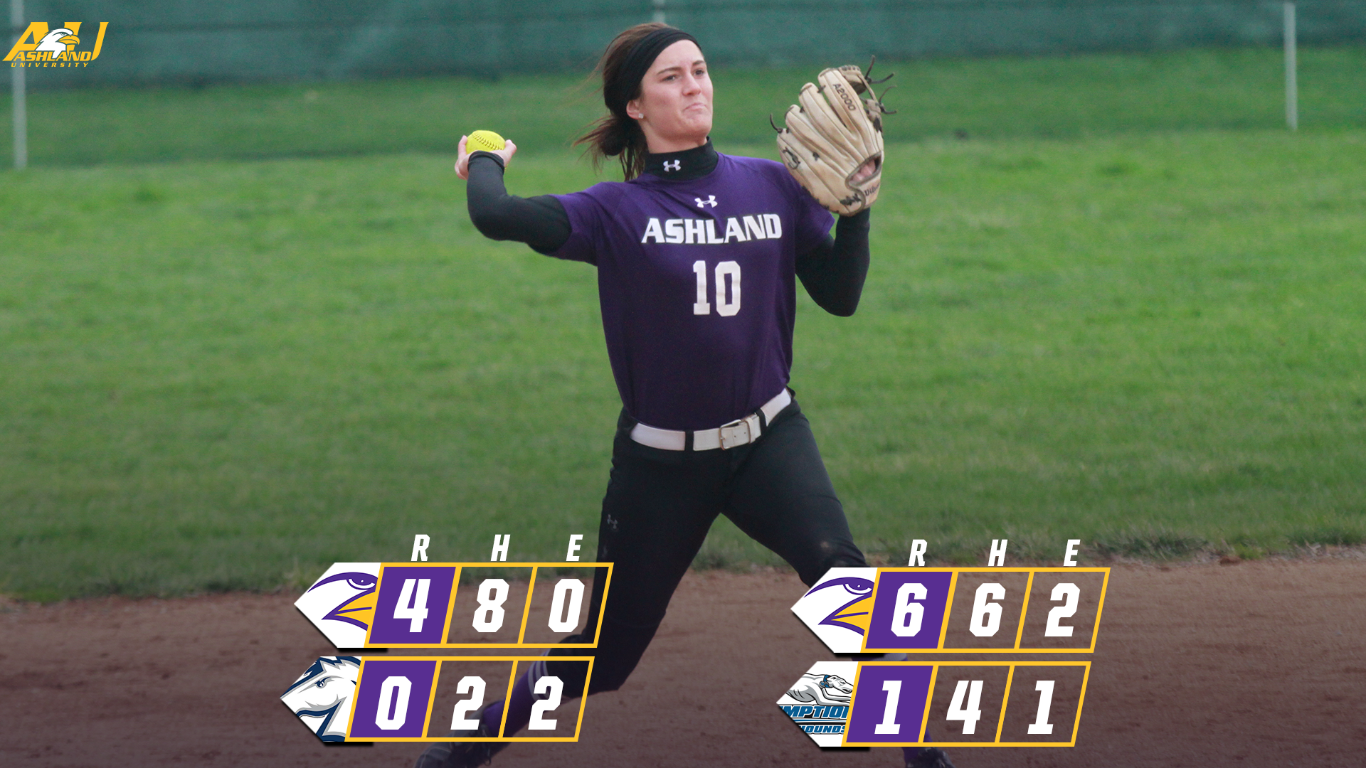 Softball Sweeps Hillsdale, Assumption In Florida