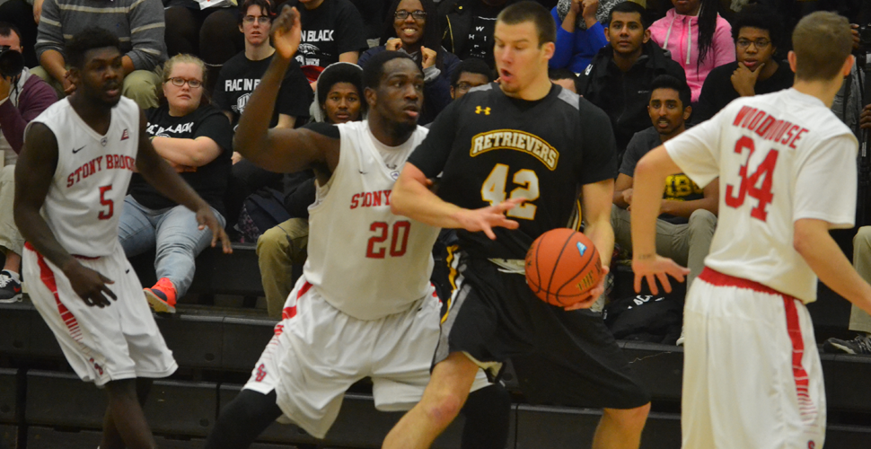 League Leading Stony Brook Defeats Men's Basketball, 75-52