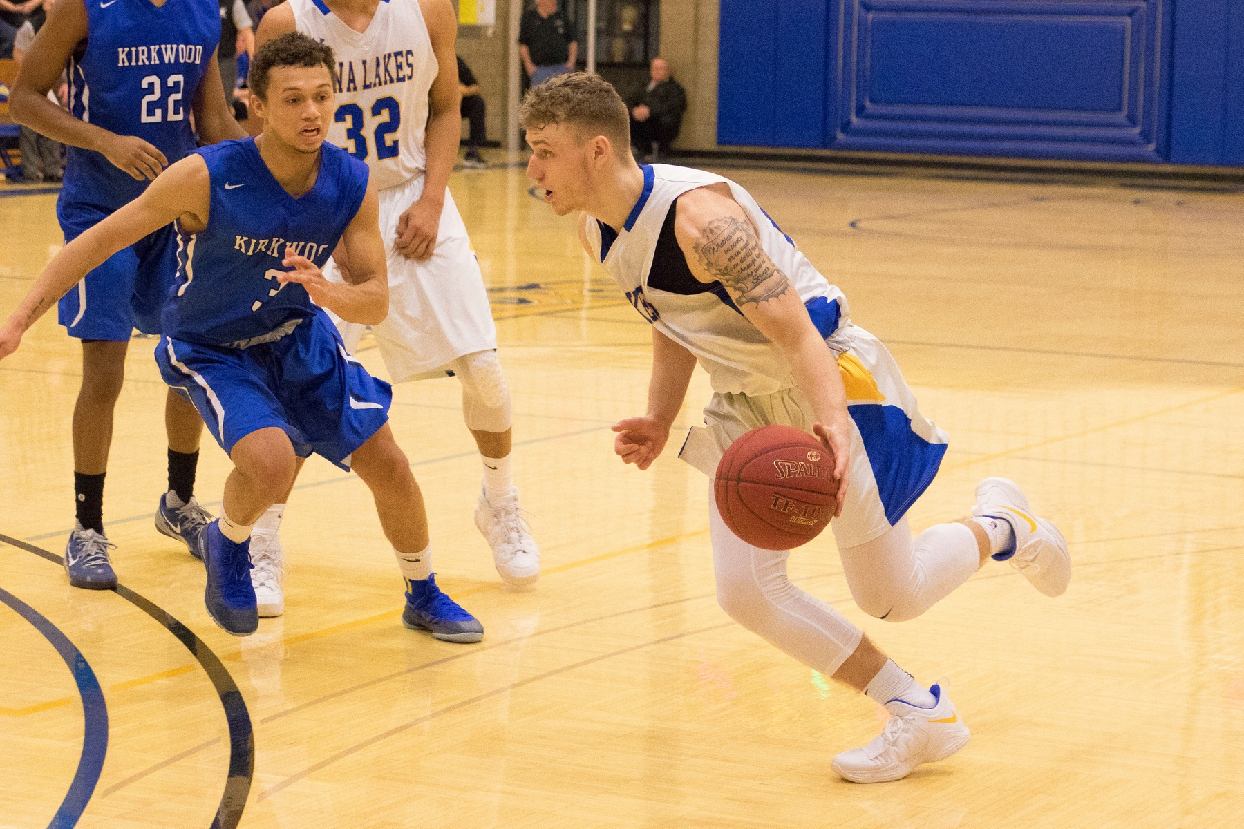 Lakers beat NIACC 79-72