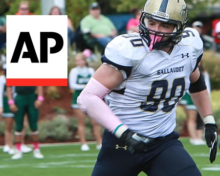 Gallaudet football gains worldwide exposure with Associated Press feature
