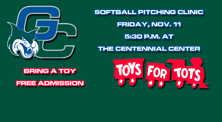 GC Softball to Host Pitching Clinic Nov. 11 to Support Toys for Tots