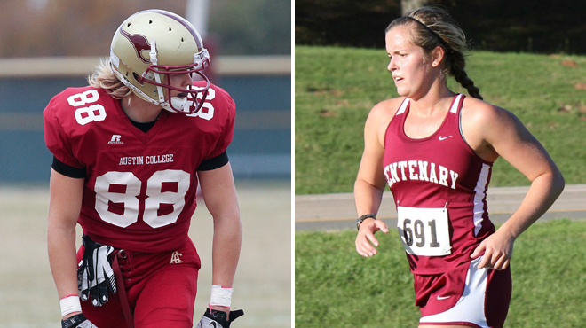 Austin College's McCarthy; Centenary's Thornhill Named SCAC Character & Community Student-Athletes of the Week