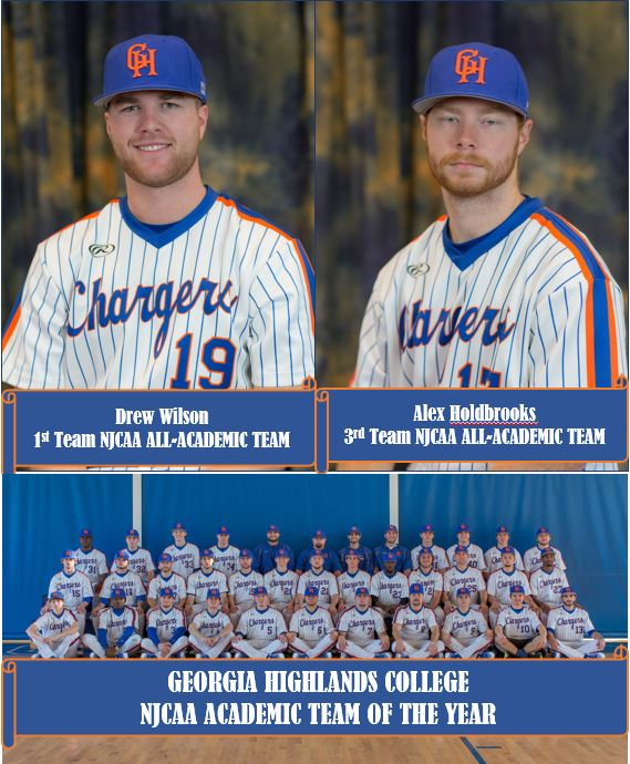 GHC Baseball Earns Team and Individual Academic Honors