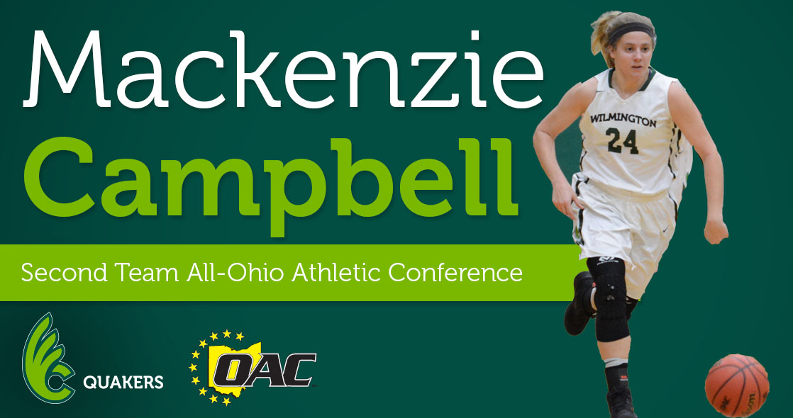 Mackenzie Campbell Named to All-OAC Second Team