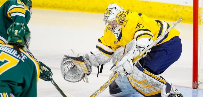 Quinnipiac Drops First Game of Quarterfinals at Clarkson