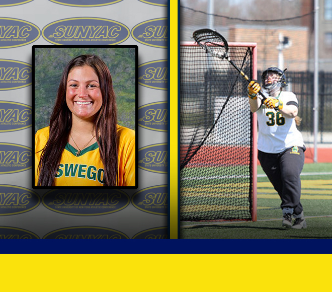 SUNYAC announces this week's Women's Lacrosse Athletes of the Week