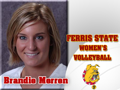 Ferris State Volleyball Adds Brandie Merren To 2011 Roster
