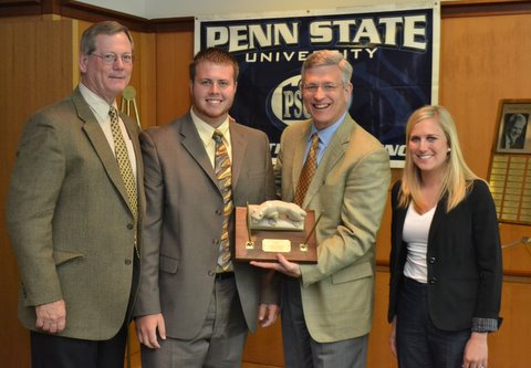 Daniel Zeiders receives John Egli Award