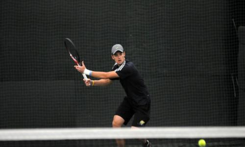 Men's Tennis Roll Into GNAC Tournament