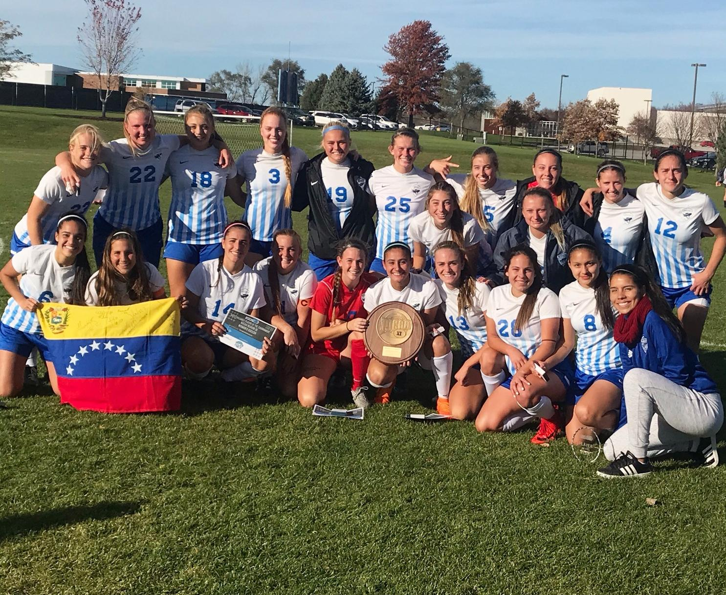 Reivers become Region XI Champions with 4-0 victory over Iowa Central