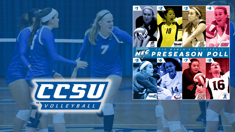 Volleyball Picked Fifth in NEC Preseason Coaches Poll