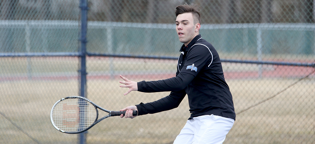 Men's Tennis falls to Utica, 5-4 in tight E8 Match