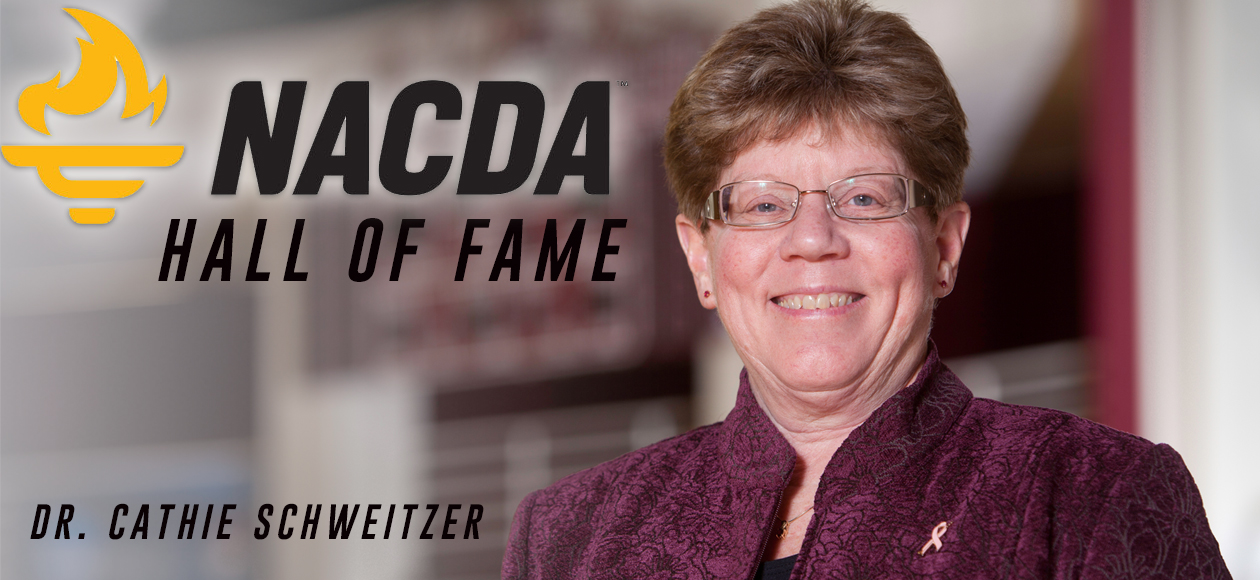 Dr. Cathie Schweitzer To Be Inducted Into NACDA Hall of Fame